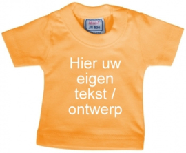 Mini shirt oranje