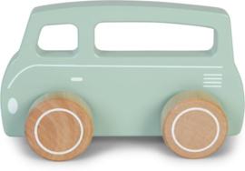 Little Dutch Houten Busje Mint
