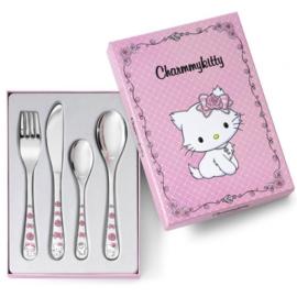 Kinderbestek Charmmy Kitty