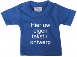 Mini shirt blauw