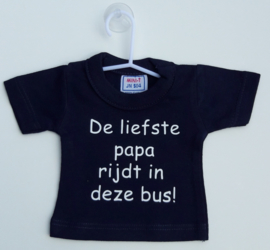 Mini shirt papa bus