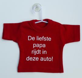Mini shirt  papa auto