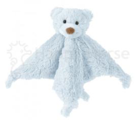 Bear Boogy knuffeldoekje blauw