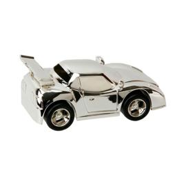 Spaarpot sport auto verzilverd