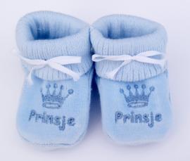 Slofjes Prinsje blauw