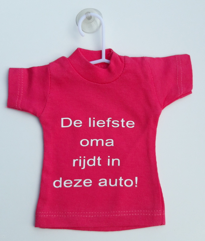 Mini shirt oma auto