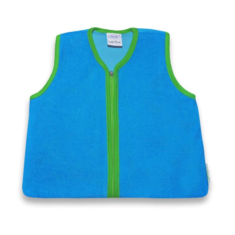 Trappelzak turquoise/groen