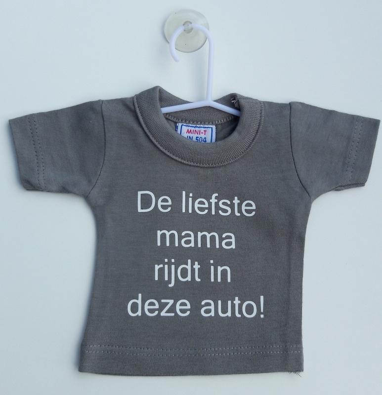 Mini shirt  mama auto