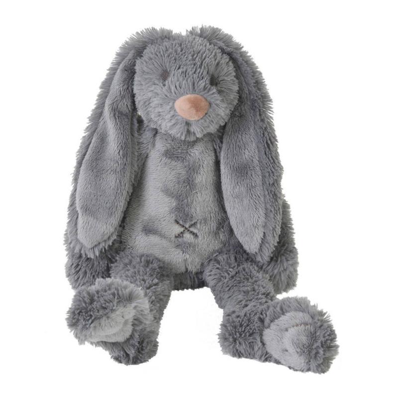 Tiny Deep Grey Rabbit Richie 28cm