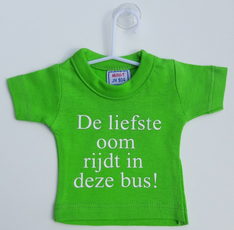 Mini shirt oom bus