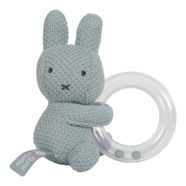 Ringrammelaar Nijntje Green Knit