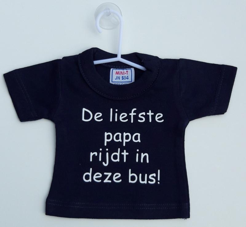 Mini shirt papa bus