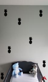 muursticker ananas