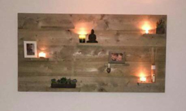 wandbord steigerhout XXL