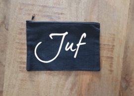 Canvas etui Juf