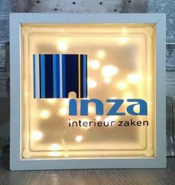 Glasblok met verlichting Inza - Prijs vanaf