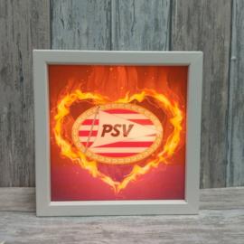 Verlichte fotolijst PSV Eindhoven