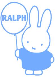 Geboorte raamsticker Ralph