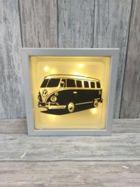 Glasblok met verlichting VW T1