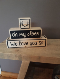Blokkenset oh my Deer