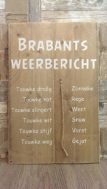 Tekstbord Brabants dagblad