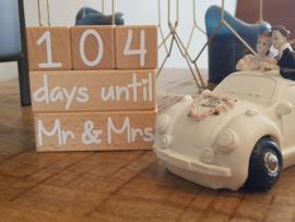 Aftelblokken Mr&Mrs