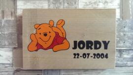 Geboorteplankje Winnie the Pooh
