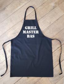 Schort Grill master (met naam)