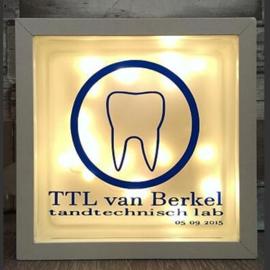 Glasblok met verlichting TTL - Prijs vanaf