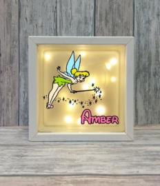 Decoratie glasblok met verlichting Tinkerbell 5 - Prijs vanaf