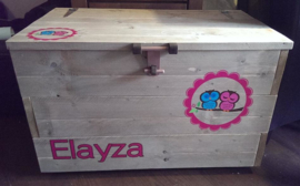 Speelgoedkisten - opbergbakken van steigerhout