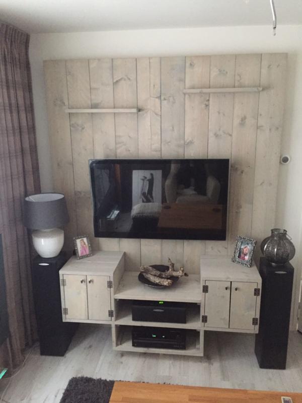 Goede CTVM001 | TV meubels van steigerhout | CharlieZ XU-69