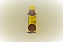 Indring lederverf zwart/bruin