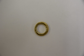 O-ring massief messing 13 mm.