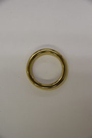 O-Ring massief messing 28 mm.