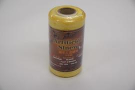 Plat splitsbaar gewaxt nylon garen naturel.