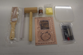 Basis leder stempel set.