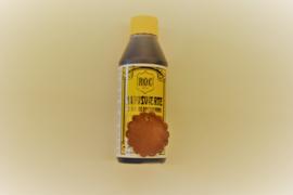 Indring lederverf rood/bruin.