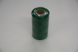 Plat splitsbaar gewaxt nylon garen groen.