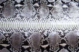 Slangenleder.