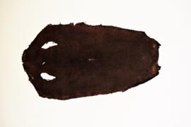Roggeleder geschuurd bruin.