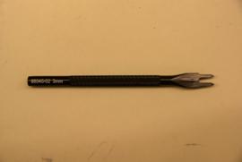 Naai tand 2 tanden 3 mm. 88045-02