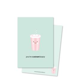 you're exSTRAWdinary (kleine afbeelding) | kaarten