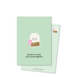 thanks for being such a great TEAcher (kleine afbeelding) | kaarten