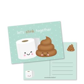 let's STINK together | kaarten