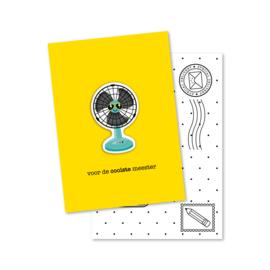 voor de COOLSTE meester | magneetkaart