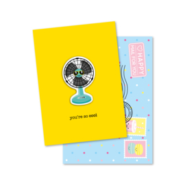 you're so COOL   magneetkaart