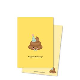 hapPOO birthday (kleine afbeelding) | kaarten