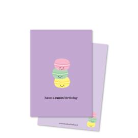 have a SWEET birthday (kleine afbeelding) | kaarten