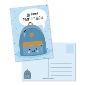 jij bent fanTAStisch (blauw) | kaarten